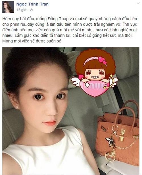 Facebook sao Việt: NSƯT Chiều Xuân trẻ trung ở tuổi 48 6
