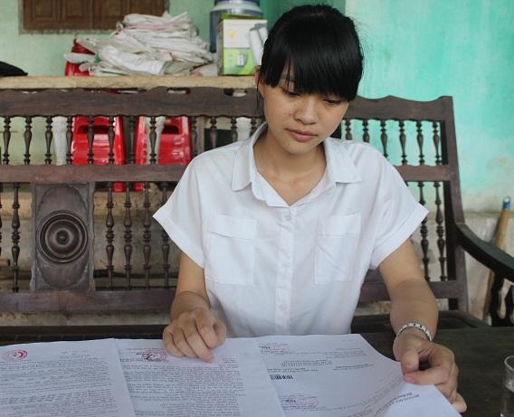 Nữ sinh Quảng Bình 29 điểm được nhận vào Học viện Chính trị CAND 1