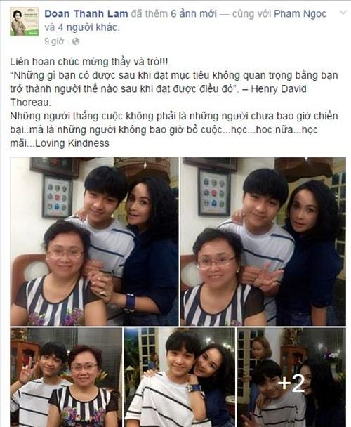Facebook sao Việt: NSƯT Chiều Xuân trẻ trung ở tuổi 48 11