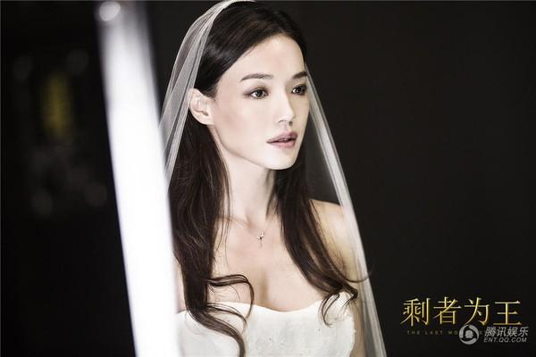 Thư Kỳ đẹp tinh khôi khi mặc váy cưới bên 'người tình trẻ' 3