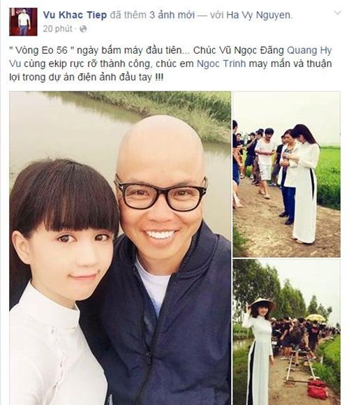 Facebook sao Việt: NSƯT Chiều Xuân trẻ trung ở tuổi 48 13