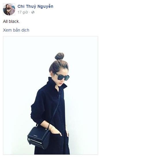 Facebook sao Việt: Chi Pu khoe túi hàng hiệu, Sơn Tùng đậm chất Kpop 1