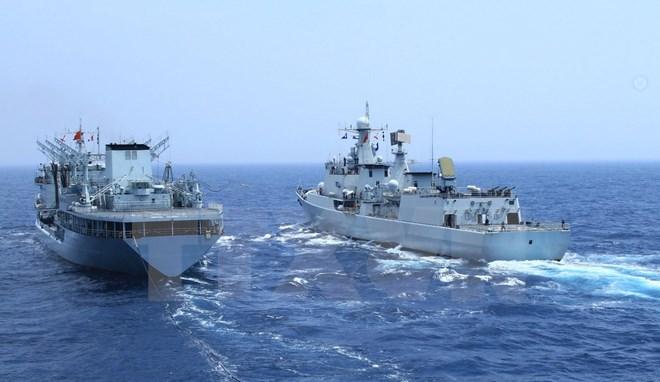 """Trung Quốc tập trận chung """"Hòa bình và Hữu nghị 2015"""