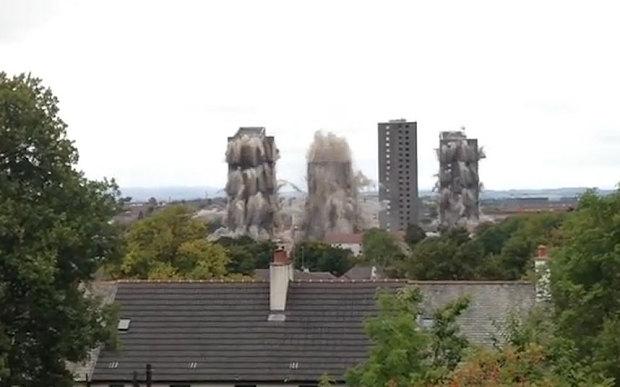 Video: Anh cho nổ tung 3 tòa nhà là nơi tội phạm trú ngụ 1