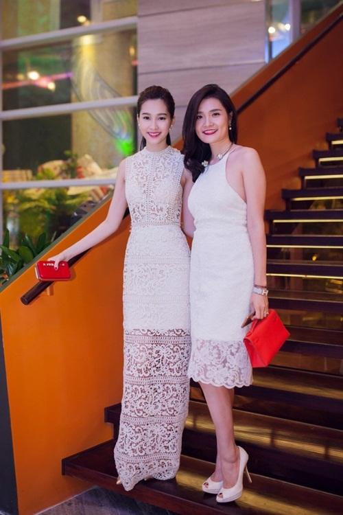 Sao Việt đẹp tuần qua: Đặng Thu Thảo, Thu Phương mong manh quyến rũ với váy ren 1