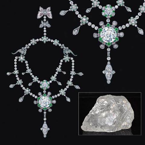 Cận cảnh chiếc vòng cổ kim cương hơn 4 nghìn tỷ đồng 2