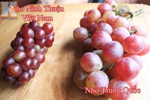Cách nhận biết hoa quả Trung Quốc cực đơn giản 2