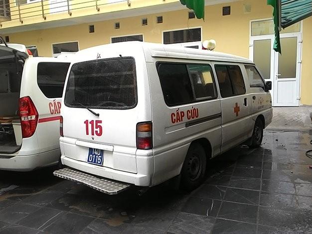 Bệnh nhân tử vong trên đường cấp cứu do… xe 115 chết máy 1