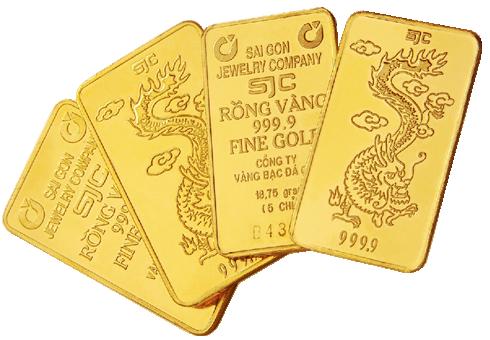 Hình ảnh Giá vàng SJC tăng 70 nghìn đồng/lượng số 1