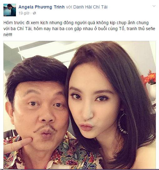 Facebook sao Việt: Angela Phương Trinh khoe khéo mái tóc mới cắt 1