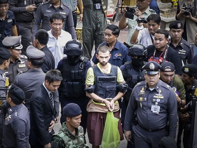 Chính phủ Thái Lan công bố động cơ của kẻ đánh bom Bangkok 1