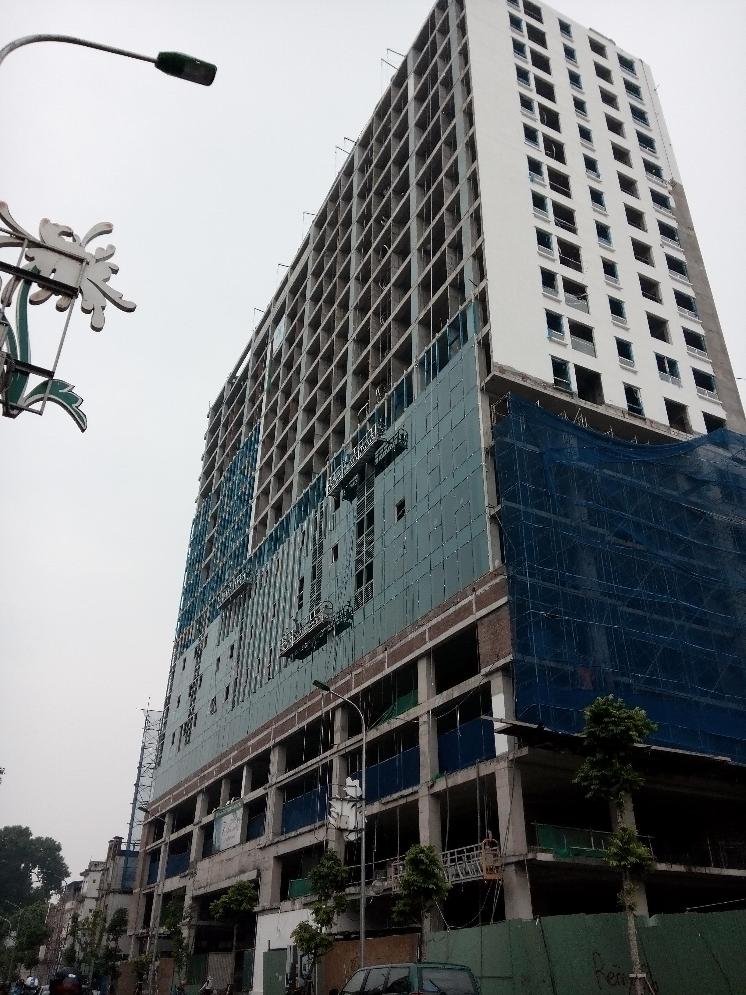 """Bí thư Hà Nội nói về tòa nhà cao """"bất thường"""" gần Lăng Bác 1"""