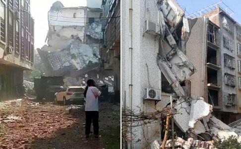 Trung Quốc: Bom nổ liên tiếp tại 17 địa điểm  1