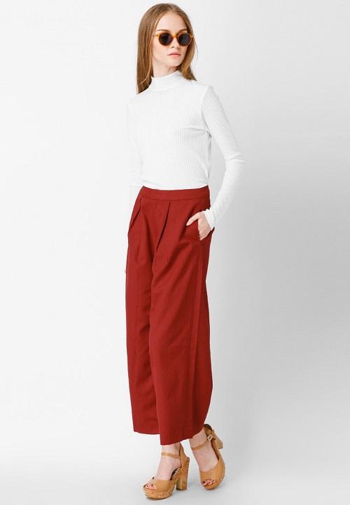 Tips phối quần áo nữ thời trang với sắc đỏ quyến rũ 1