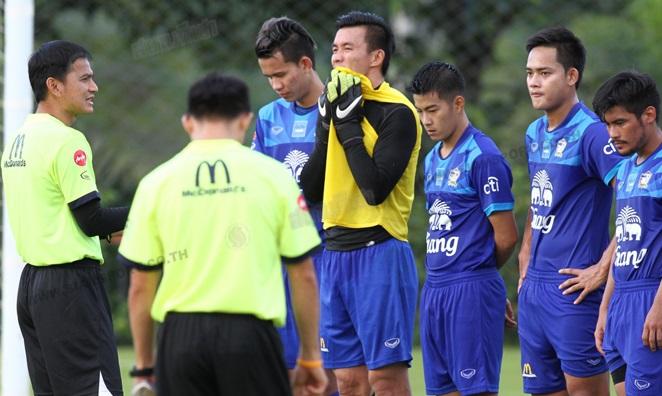 Thái Lan gặp khó trước trận tái đấu với ĐT Việt Nam 1