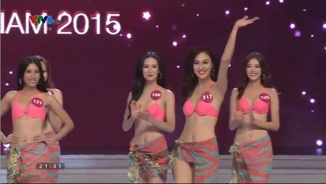 Thí sinh đăng quang Hoa hậu hoàn vũ Việt Nam 2015 8