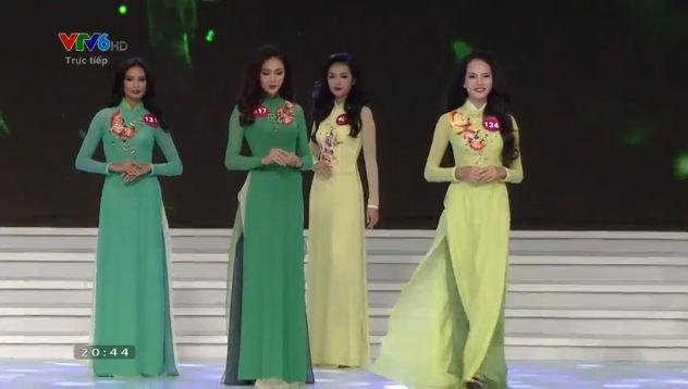 Thí sinh đăng quang Hoa hậu hoàn vũ Việt Nam 2015 5