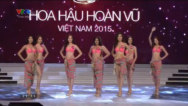 Thí sinh đăng quang Hoa hậu hoàn vũ Việt Nam 2015 11