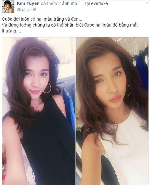 Facebook sao Việt: Kỳ Duyên 'tâm trạng' sau scandal phẫu thuật thẩm mỹ 4