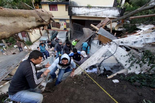 Lở đất Guatemalan, 26 người chết, 600 người mất tích 1
