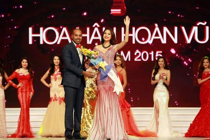 Thí sinh đăng quang Hoa hậu hoàn vũ Việt Nam 2015 2
