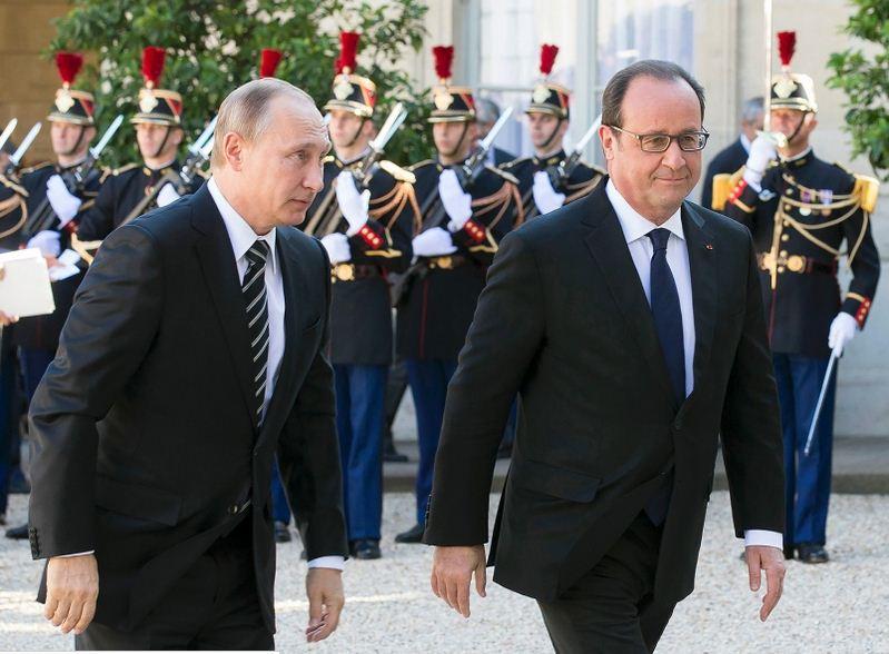 Pháp đề nghị Nga tập trung không kích IS 1