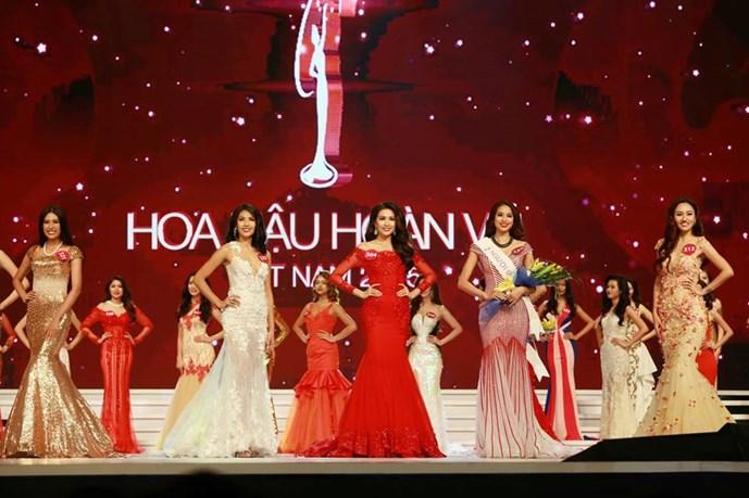 Thí sinh đăng quang Hoa hậu hoàn vũ Việt Nam 2015 1