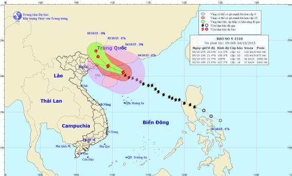 Nguyên nhân bão số 4 di chuyển nhanh, ngày càng mạnh 2