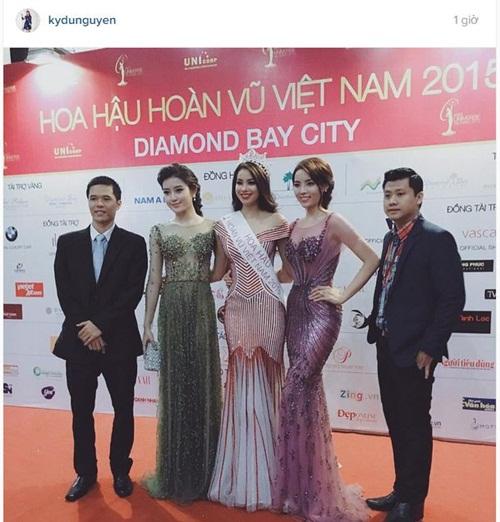 Facebook sao Việt: Kỳ Duyên, Huyền My đọ sắc bên Tân hoa hậu Phạm Hương 1
