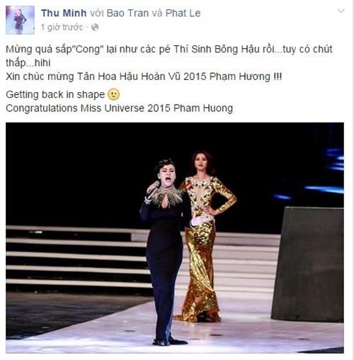 Facebook sao Việt: Kỳ Duyên, Huyền My đọ sắc bên Tân hoa hậu Phạm Hương 10