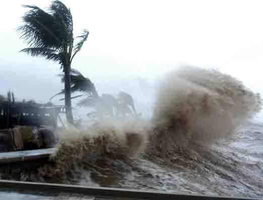 Nguyên nhân bão số 4 di chuyển nhanh, ngày càng mạnh 1