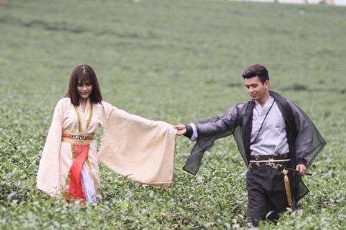 Hồ Quang Hiếu hóa nhân vật cổ trang trong thế giới ảo mộng 4