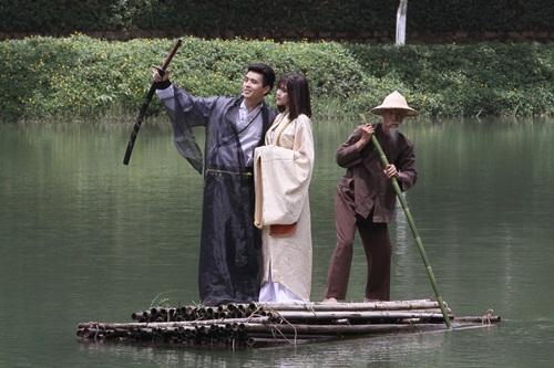 Hồ Quang Hiếu hóa nhân vật cổ trang trong thế giới ảo mộng 7