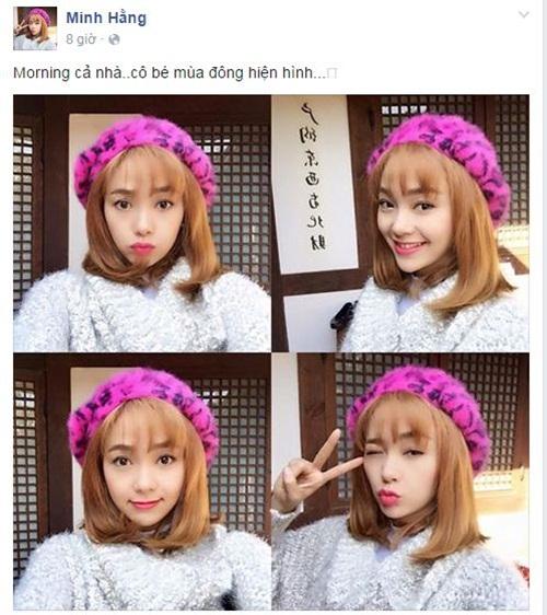 Facebook sao Việt: Kỳ Duyên chia sẻ đầy tâm trạng trên trang cá nhân 6