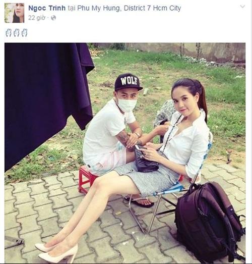 Facebook sao Việt: Phan Hiển hạnh phúc khi được con trai đánh thức 3