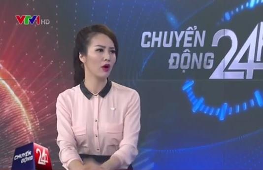 Á hậu Thụy Vân xin lỗi vì mất kiểm soát trên sóng VTV 1