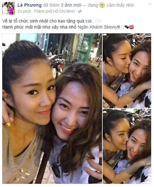 Facebook sao Việt: Đan Lê gửi lời cảm ơn đầy xúc động nhân dịp sinh nhật 15