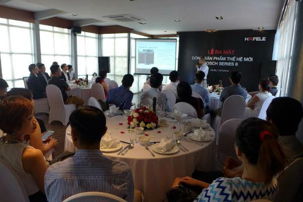 Dòng sản phẩm mới Bosch Series 8 chính thức ra mắt tại Việt Nam 2
