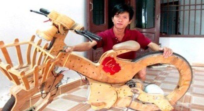 9x Việt chế tạo ô tô giá 20 triệu đồng 2