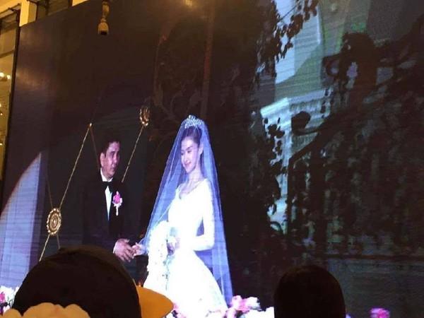 Huỳnh Hiểu Minh bật khóc trong hôn lễ 14