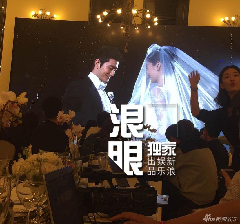 Huỳnh Hiểu Minh bật khóc trong hôn lễ 10