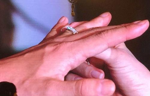 Huỳnh Hiểu Minh bật khóc trong hôn lễ 5