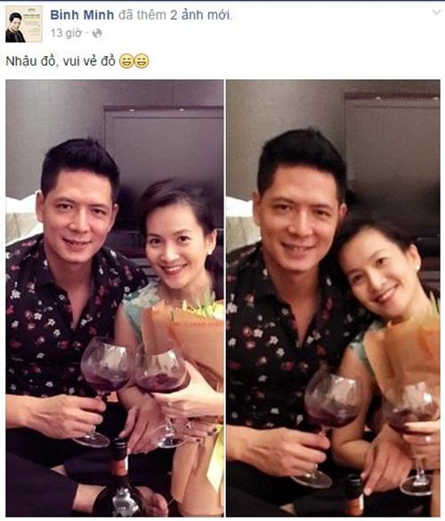 Facebook sao Việt: Phan Hiển - Khánh Thi hạnh phúc bên con trai 2
