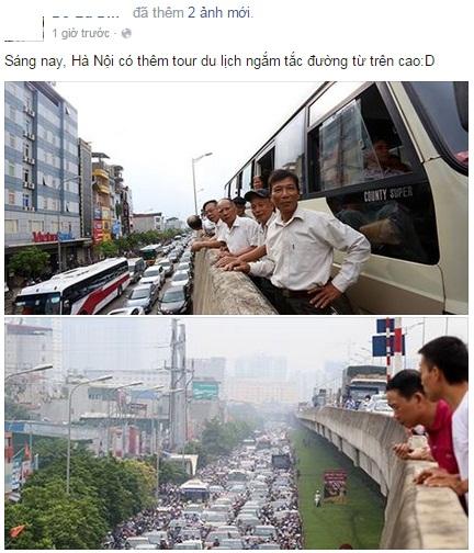 Bức ảnh tắc đường trở thành hiện tượng mạng xã hội 12