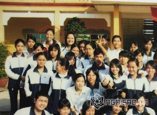 Hé lộ ảnh cấp 3 kém xinh của Hoa hậu Phạm Hương 2