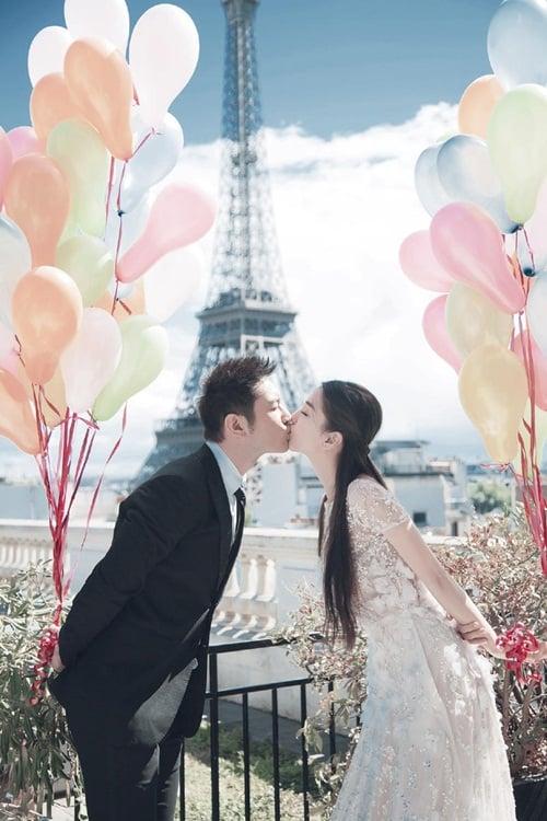 Ảnh cưới siêu lãng mạn của Angela Baby và Huỳnh Hiểu Minh 1