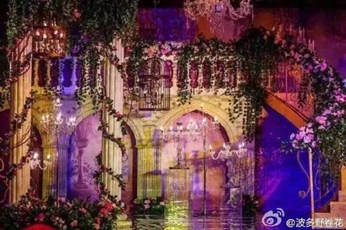 Lễ đường đám cưới lộng lẫy, xa hoa Huỳnh Hiểu Minh và Angela Baby 4