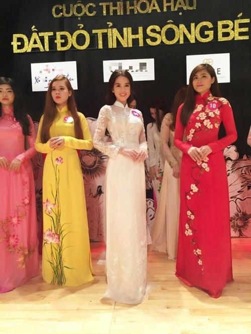 Ngọc Trinh bất ngờ dự thi 'Hoa hậu đất đỏ sông Bé' 3