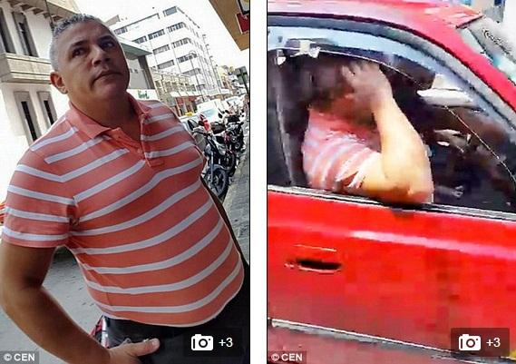 Gã đàn ông quay trộm phụ nữ mặc váy ngắn giữa phố bị bắt tại trận 2