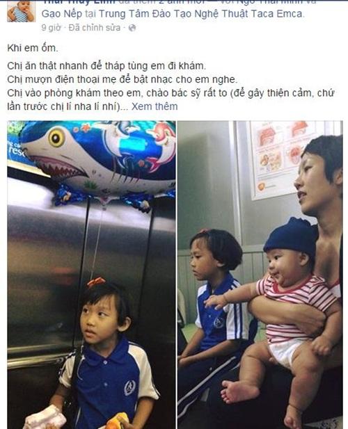 Facebook sao Việt: Phan Hiển - Khánh Thi hạnh phúc bên con trai 12